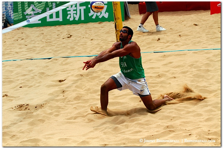 PedroSalgadoBrazilianbeachvolleyballplayer